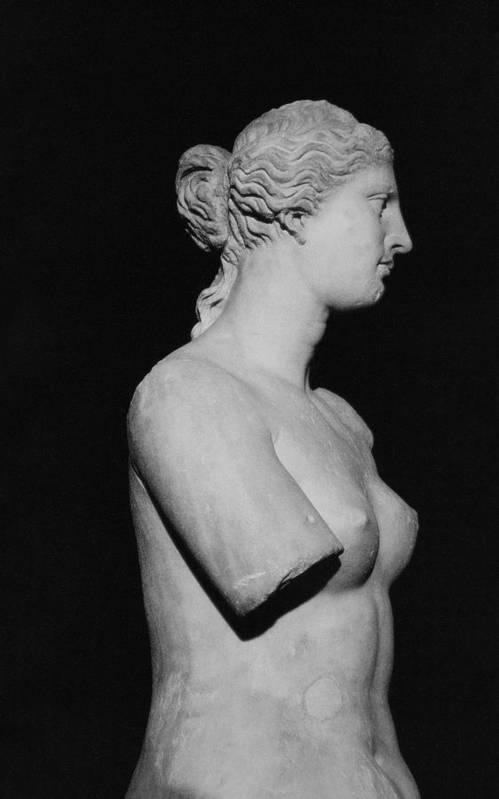 Venus De Milo Art Print featuring the photograph Venus De Milo by Greek School
