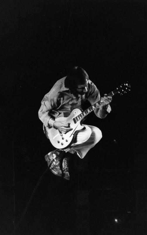 Rock Music Art Print featuring the photograph Jumping Townshend by Evening Standard
