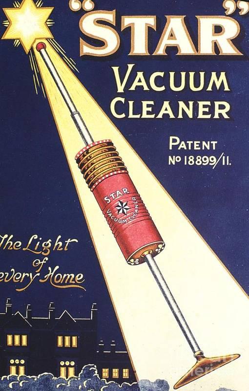 1920s Uk Vacuum Cleaners Hoovers Art Print