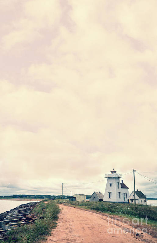 Prince Art Print featuring the photograph Coastal Town by Edward Fielding