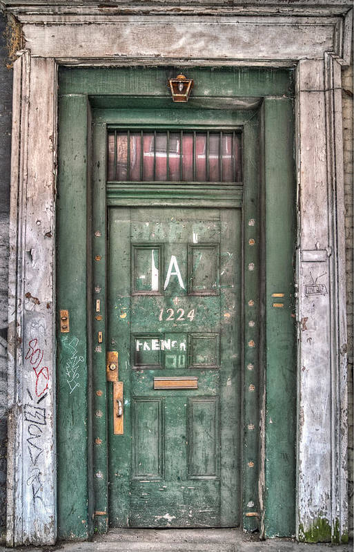 French Quarter Art Print featuring the photograph Decaying Beauty by Brenda Bryant