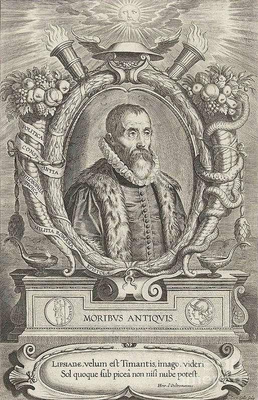History Art Print featuring the photograph Justus Lipsius, Belgian Scholar by Photo Researchers
