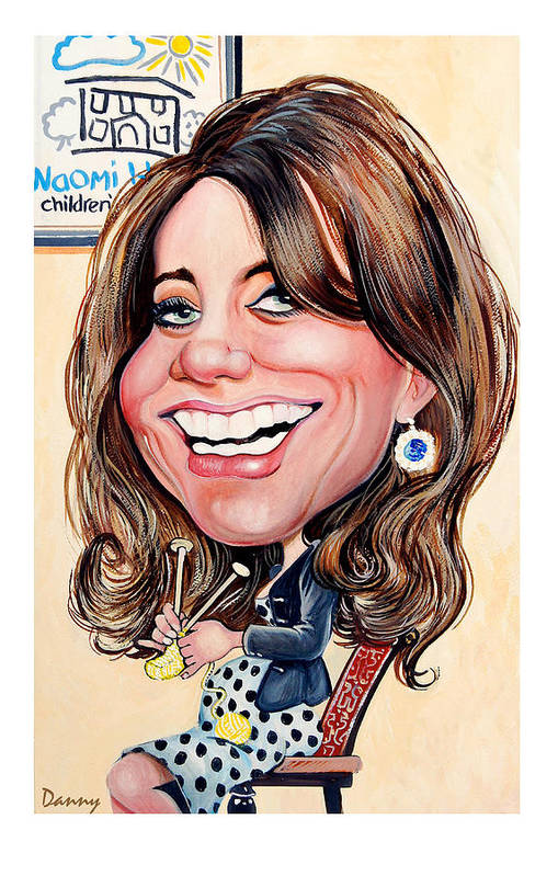Kate Art Print featuring the painting Kate Middleton. Duchess Of Cambridge by Daniel Byrne