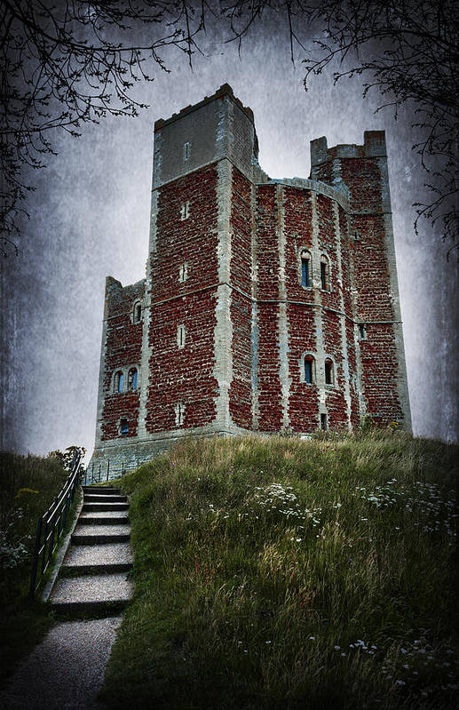 Abbey Art Print featuring the photograph Orford Castle by Svetlana Sewell