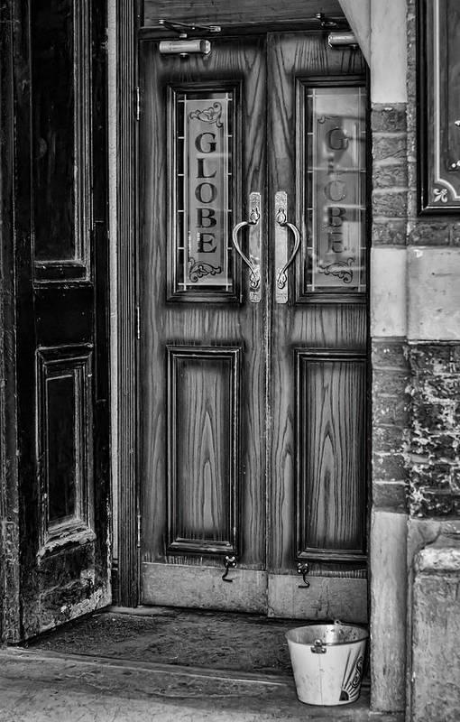 Door Art Print Featuring The Photograph The Pub Door By Heather Applegate