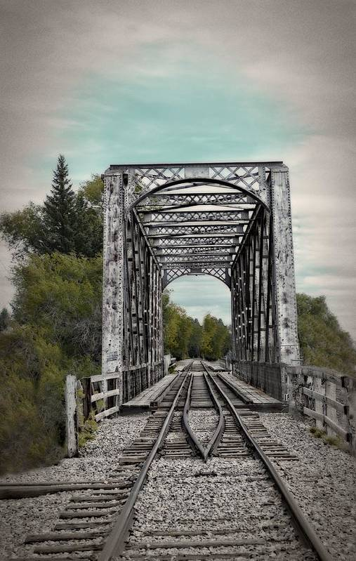 Idaho Falls Art Print featuring the photograph Waiting For The Train by Image Takers Photography LLC