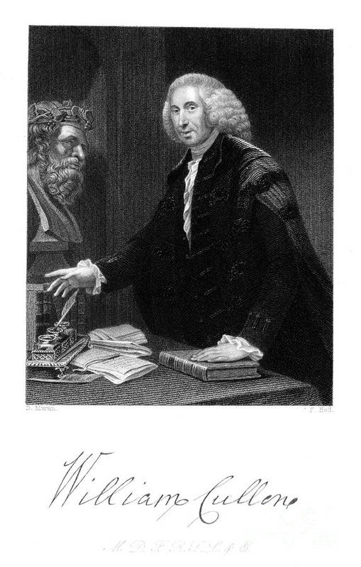 1839 Art Print featuring the photograph William Cullen (1710-1790) by Granger