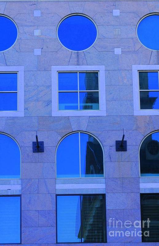 Window Art Print featuring the photograph Window Shapes by Kathleen Struckle
