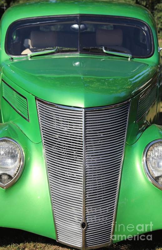 Car Art Print featuring the photograph Green With Envy by Sophie Vigneault
