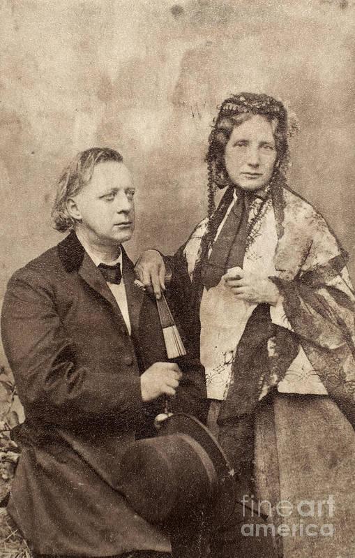 1868 Art Print featuring the photograph Henry Ward Beecher by Granger