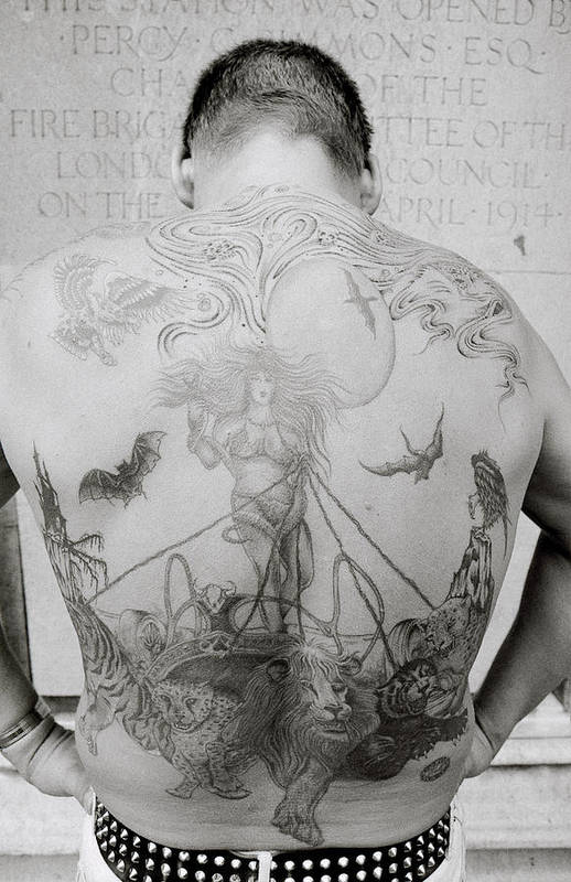 Tattoo Art Print featuring the photograph Body Art by Shaun Higson