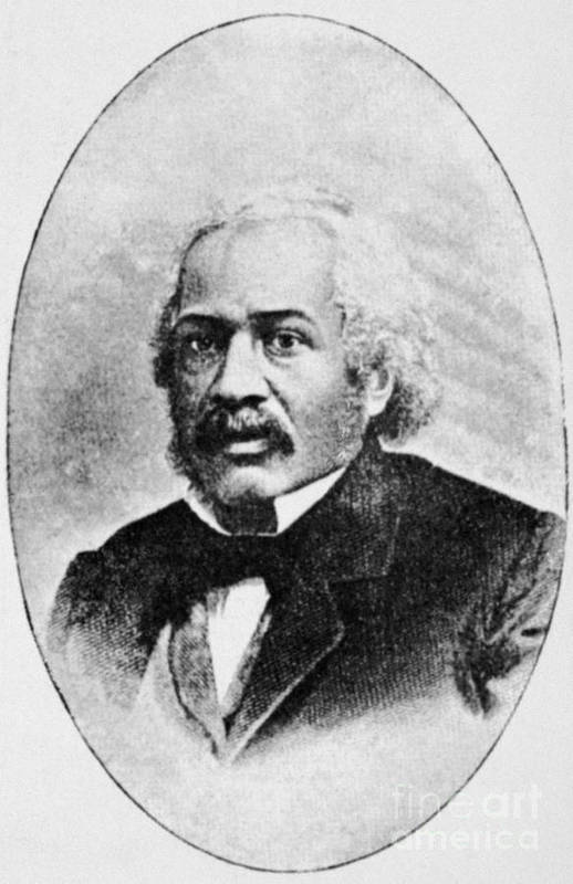 19th Century Art Print featuring the photograph James Mccune Smith by Granger
