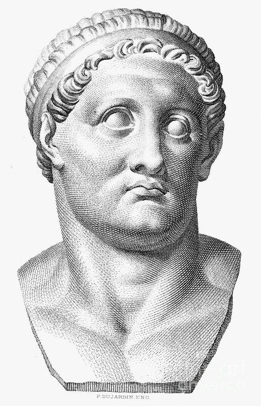 1st Century Art Print featuring the photograph Marcus Salvius Otho by Granger