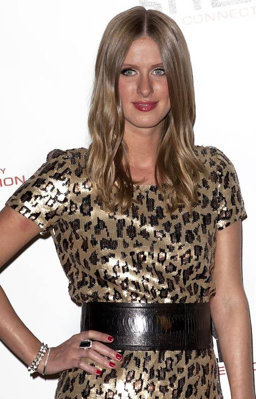 Nicky Hilton Print featuring the photograph Nicky Hilton In Attendance For Launch by Everett