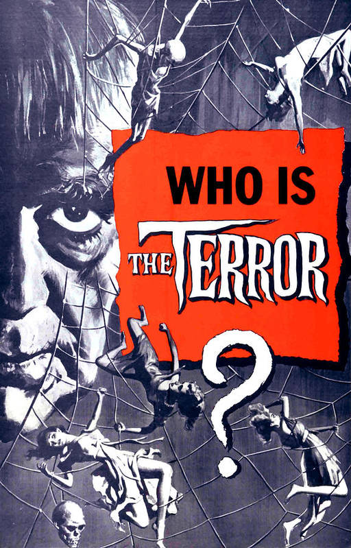 1960s Movies Art Print featuring the photograph The Terror, Boris Karloff On 1 Sheet by Everett