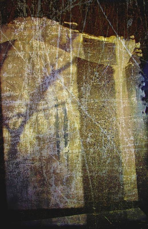 Glass Art Print featuring the photograph Through A Glass Darkly by Odd Jeppesen