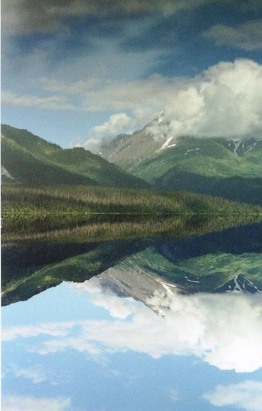 Anchorage Art Print featuring the photograph Traveling To Seward by Ann Marie Chaffin