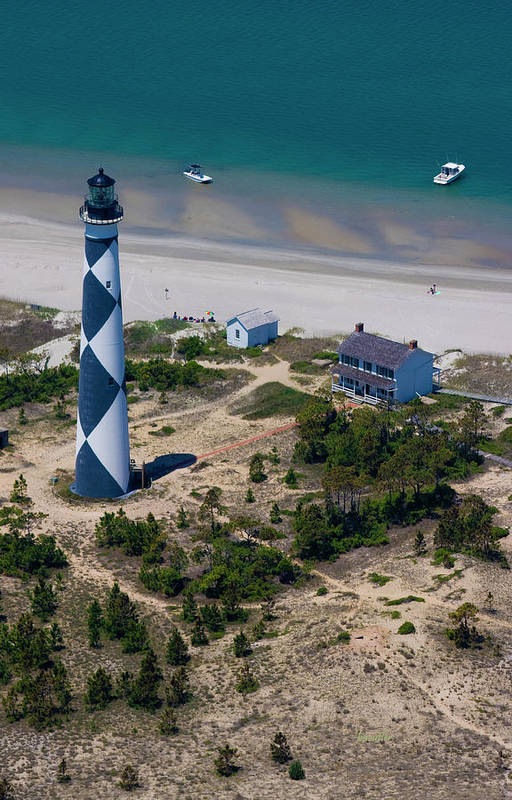 Cape Art Print featuring the photograph Cape Lookout 4 by Betsy Knapp