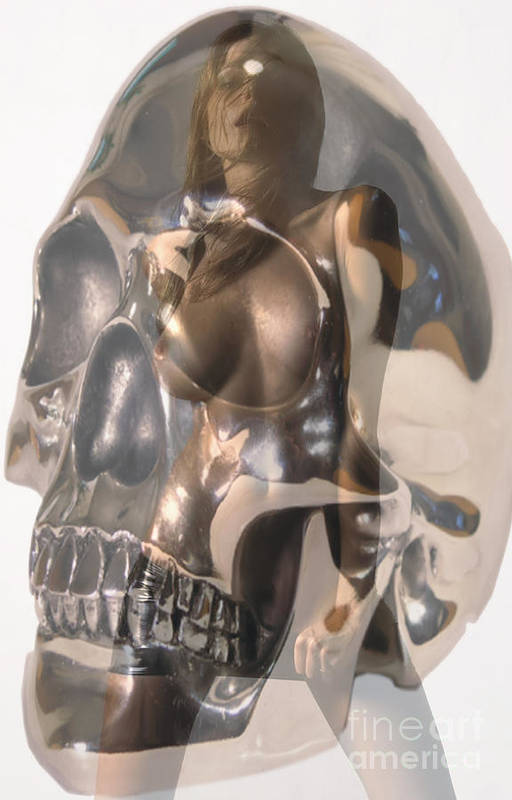 Skull Art Print featuring the photograph Devils Dance by Thomas Oliver