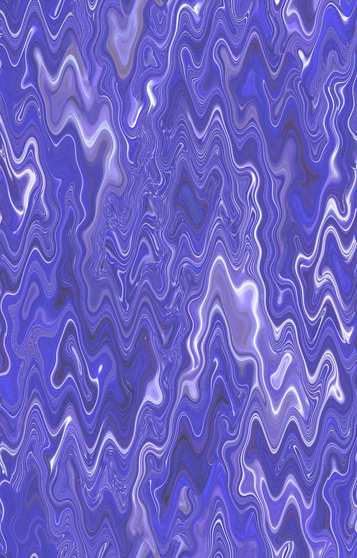Moveonart! Digital Gallery Art Print featuring the digital art Moveonart Peaceful Interactive Visual Therapy 2 by Jacob Kanduch