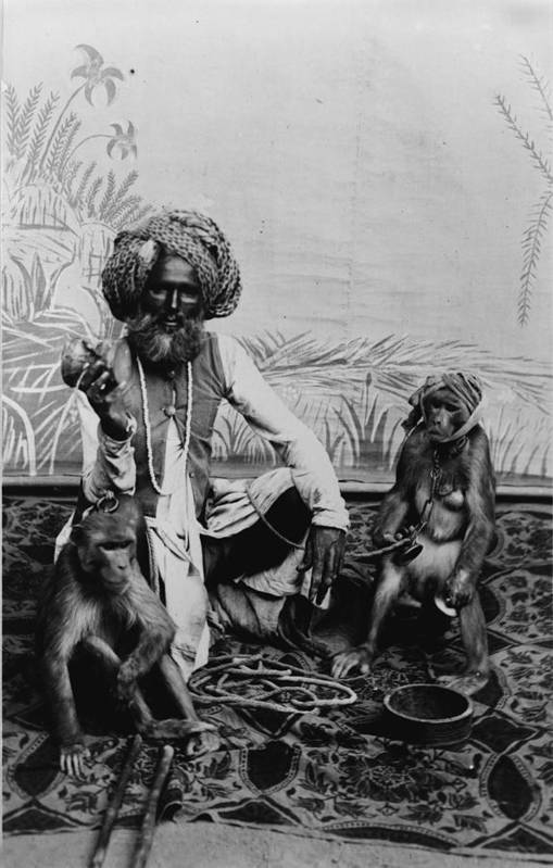 1920s Art Print featuring the photograph Portrait Of An Indian Fakir by Everett