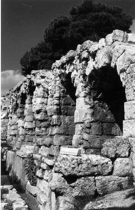Stoa Of Eumenes Art Print featuring the photograph Stoa Of Eumenes Athens by Susan Chandler