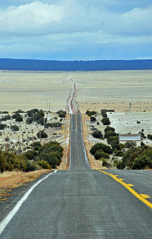 Road Art Print featuring the photograph To Eternity by David Arment