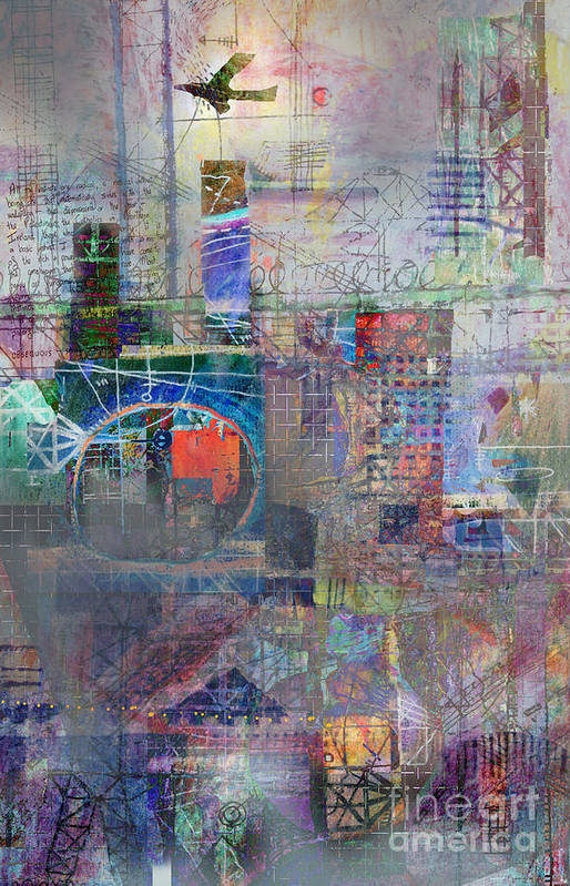 City Art Print featuring the digital art Toxicity by Andy Mercer