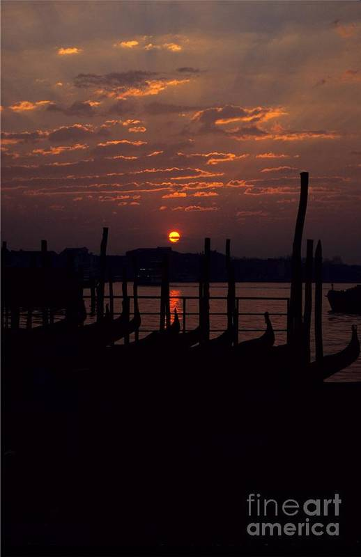 Venice Art Print featuring the photograph Venice Sunrise by Michael Henderson