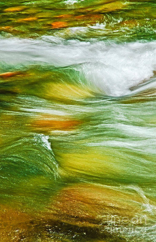 Water Art Print featuring the photograph Water Flow 2 by Emilio Lovisa