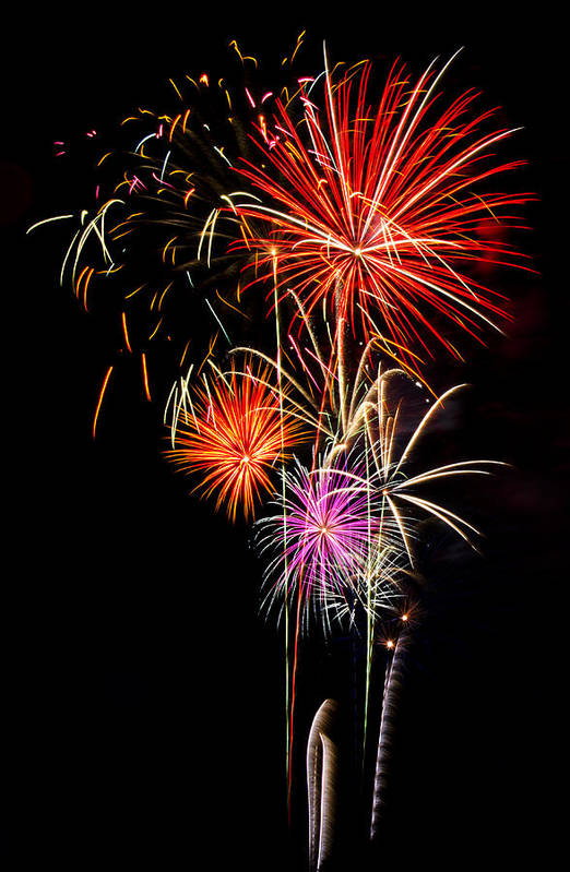 July 4th Print featuring the photograph 4th Of July 2012 by Saija Lehtonen