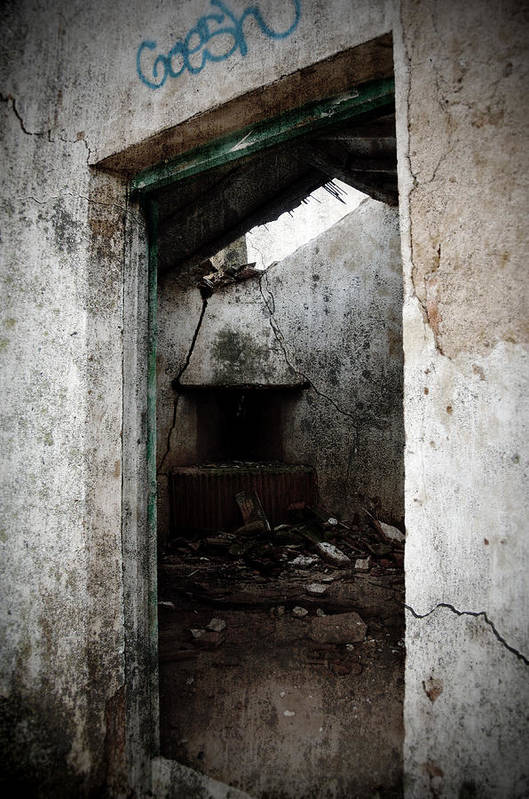 Grunge Art Print featuring the photograph Abandoned Little House 1 by RicardMN Photography
