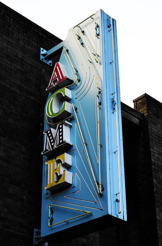 Vancouver Art Print featuring the photograph Acme by The Artist Project