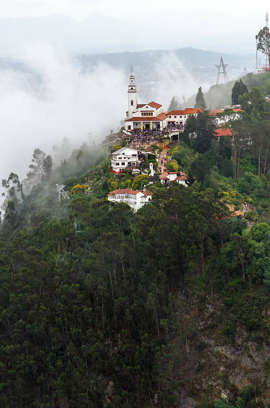 America Art Print featuring the photograph Aerial View Of Monserrate Church by Jess Kraft