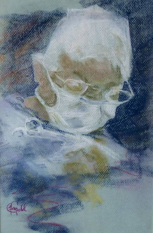 Medical Art Print featuring the painting Concentration by Janice Gell