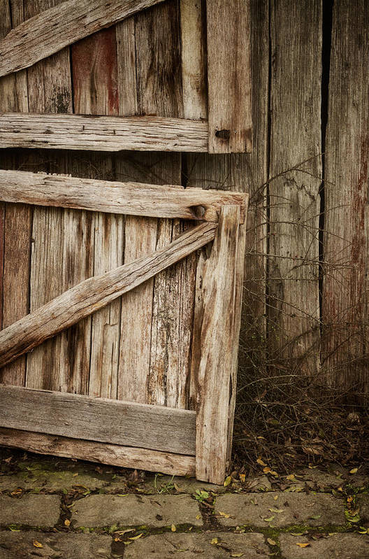 Barn Art Print featuring the photograph Country Charm by Amy Weiss