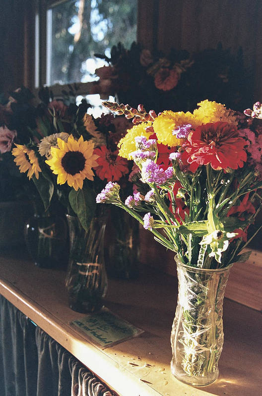 Bouquets Art Print featuring the photograph Farm Stand by Caitlyn Grasso