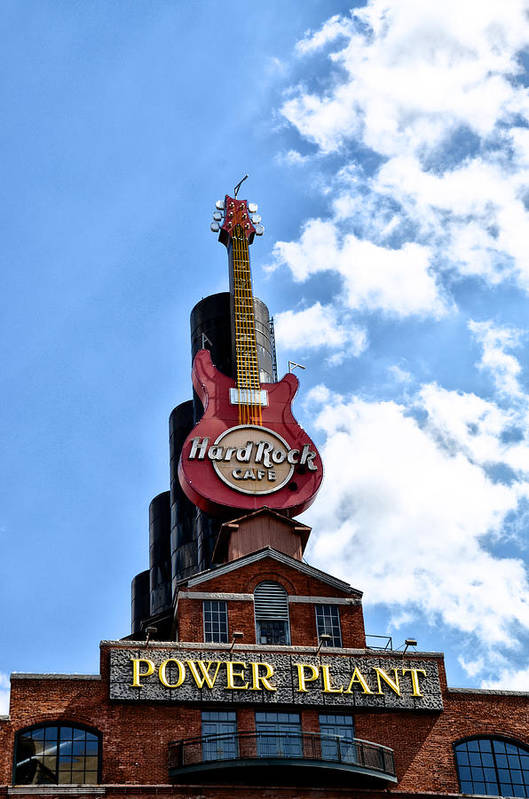 Hard Art Print featuring the photograph Hard Rock Cafe - Baltimore by Bill Cannon