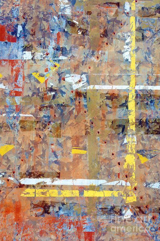 Abstract Art Print featuring the photograph Messy Background by Carlos Caetano
