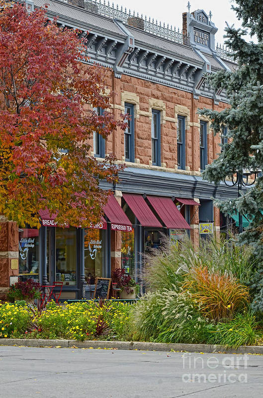 Fort Collins Art Print featuring the photograph Miller Block by Keith Ducker