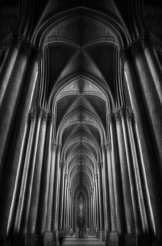 France Art Print featuring the photograph Notre-dame Catha?dral by Oussama Mazouz