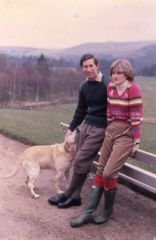 Prince Print featuring the photograph Prince Charles And Lady Diana by Retro Images Archive