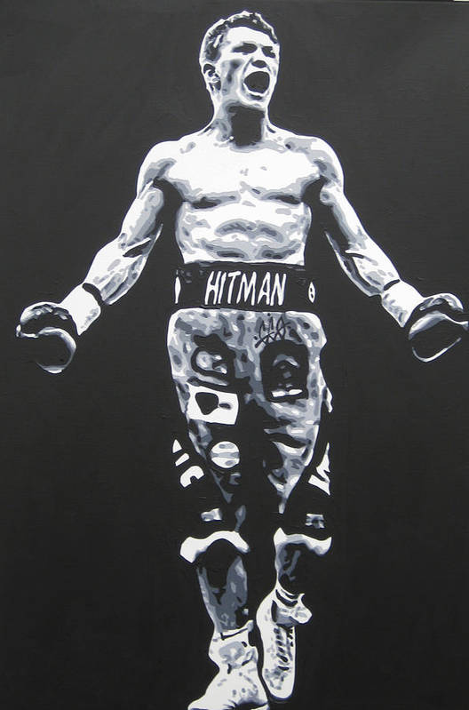 Ricky Hatton Art Print featuring the painting Ricky Hatton by Geo Thomson