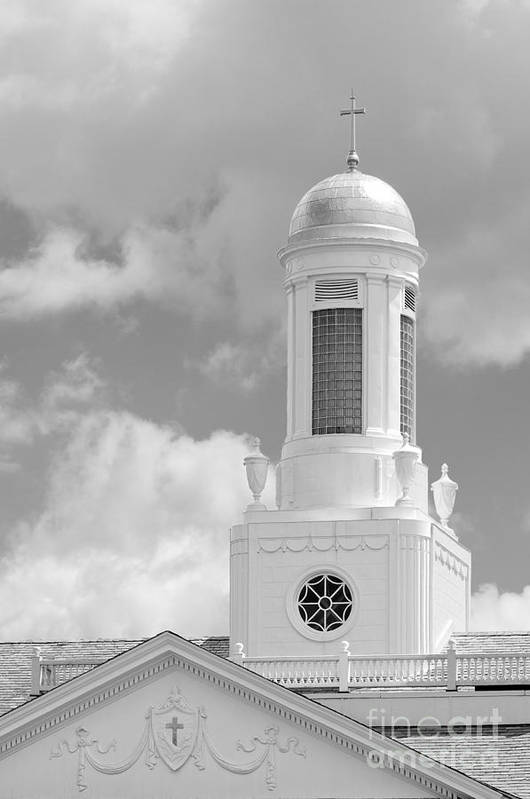 Albany Art Print featuring the photograph Siena College Siena Hall Cupola by University Icons