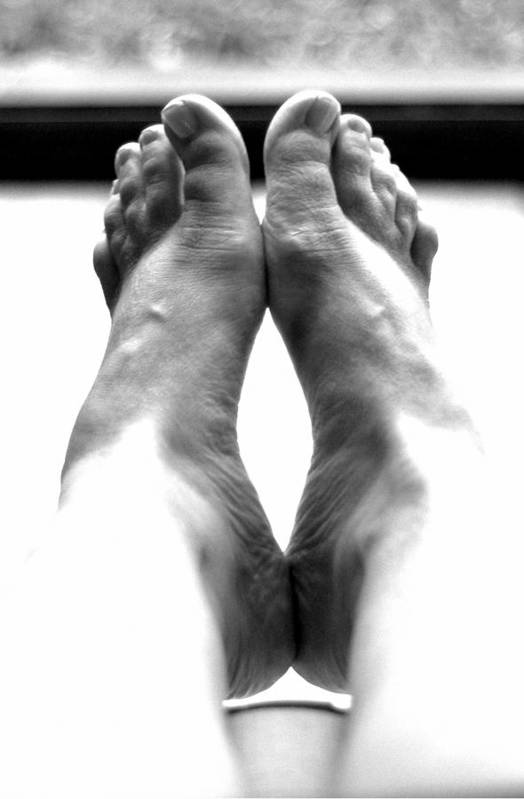 Feet Art Print featuring the photograph S's Feet by Kruise Link