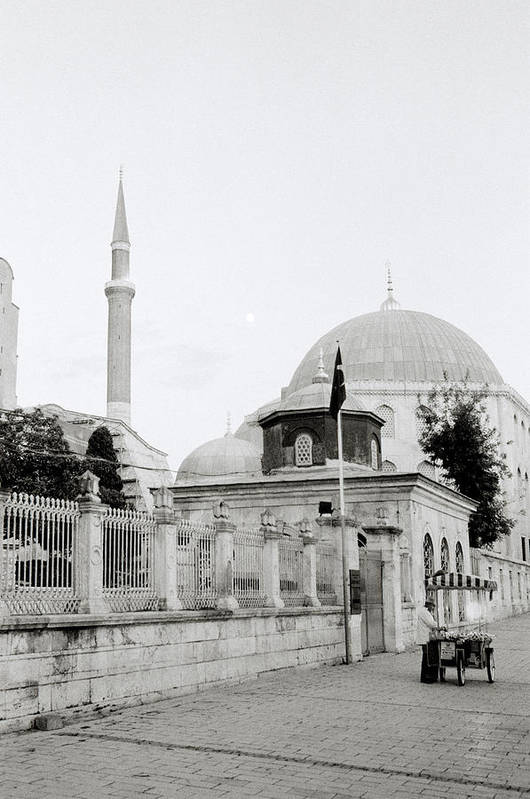 Hagia Sophia Art Print featuring the photograph The Street by Shaun Higson