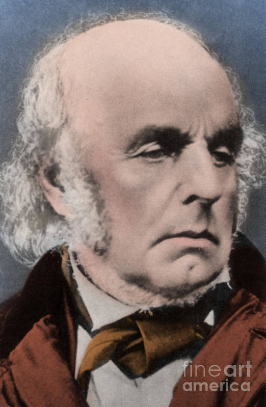 Author Print featuring the photograph Edward Fitzgerald by Science Source