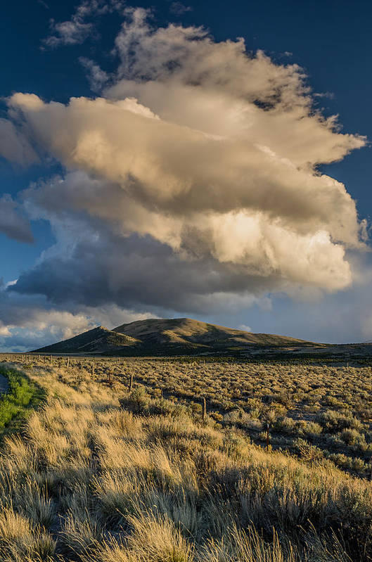 Great Basin Art Print featuring the photograph Great Basin Cloud by Greg Nyquist