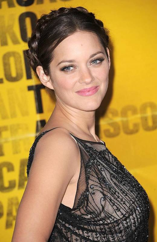 Marion Cotillard Print featuring the photograph Marion Cotillard At Arrivals by Everett