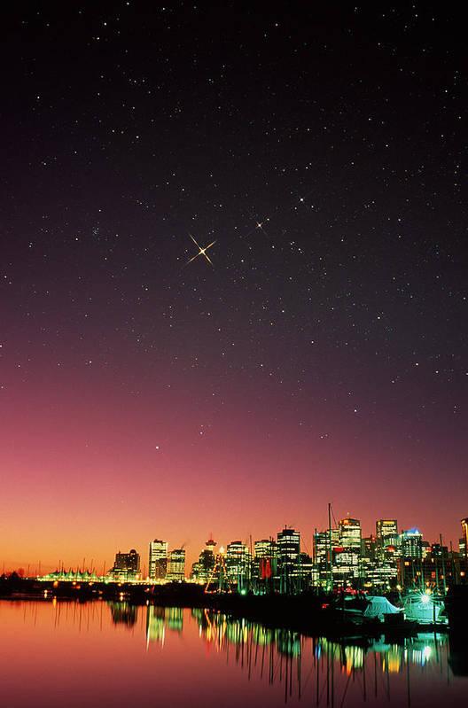 Astronomy Art Print featuring the photograph Starry Sky by David Nunuk